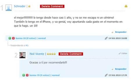 Nuevo sistema de comentarios en Ahorro Diario