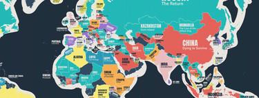 ¿Cuál es la mejor película de cada país del mundo según IMDB? Este mapa trata de averiguarlo