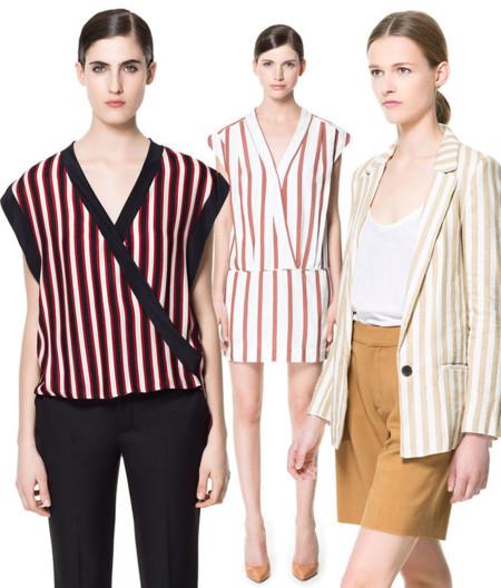 Zara rayas tendencia