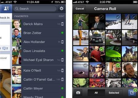Facebook para iOS se actualiza. ¿La unificación a la vista?