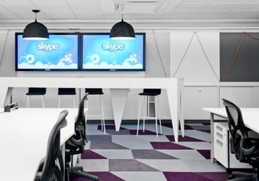 Espacios para trabajar: las oficinas de Skype en Estocolmo