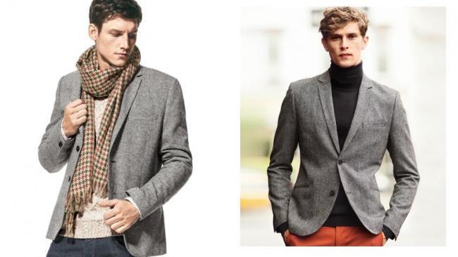 H&M materiales selectos tweed