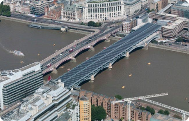 El rascacielos más alto de la UE, el puente solar más grande del mundo... bienvenidos al Londres del futuro