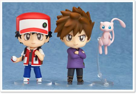 Nendoroids Pokemon Rojo Y Azul 01
