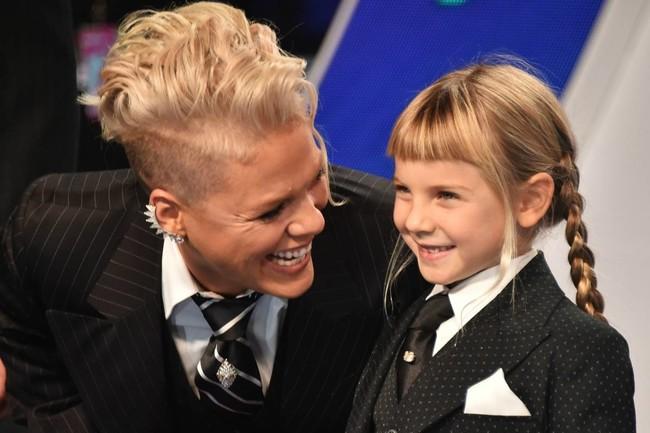 El inspirador mensaje de Pink a su hija: por qué es importantísimo que nuestras niñas se quieran como son