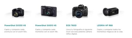 Camaras Compatibles Canon