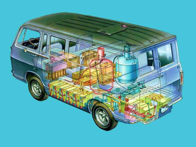 La GM Electrovan no fue el primer vehículo de pila de combustible, pero esta es su historia