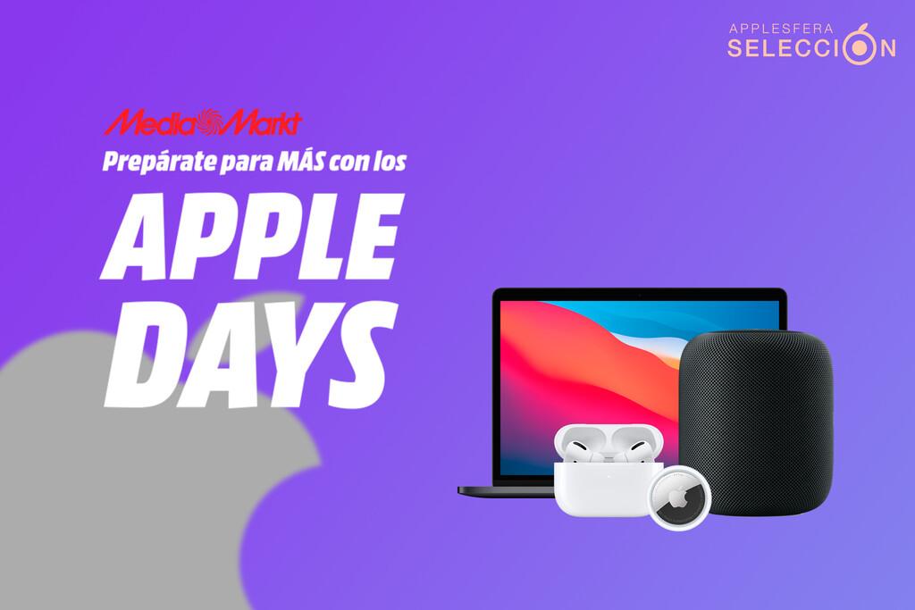 Apple Days de MediaMarkt: HomePod por 299 euros, AirTag, MacBook M1, iPad Air y mas aparatos en oferta