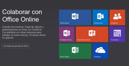 Office Online. Un cambio de nombre y más facilidades para el usuario