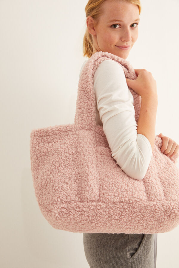 Bolso Shopper rosa