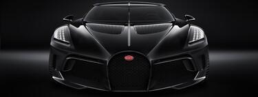 Bugatti La Voiture Noire, la versión definitiva del auto más exclusivo del mundo, sería presentada a final de mes