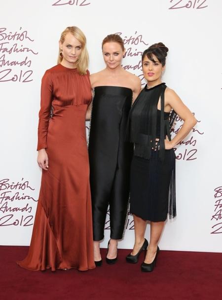 British Fashion Awards 2012: las inglesas también saben vestir bien (a veces)