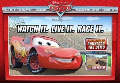 'Cars', el videojuego