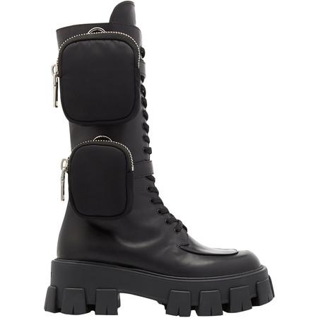 Bonjean 2019 Mujer Ltimo Estilo Nueva Llegada Botas De Motocicleta De Bolsillo Con Cordones Hermosos Zapatos