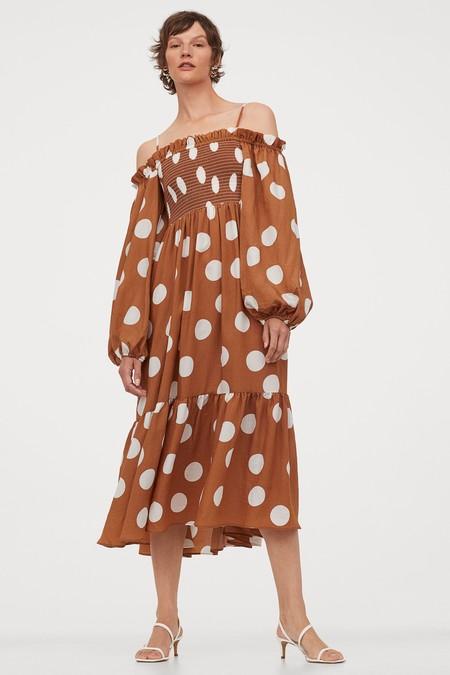 Vestido Escote Bardot Low Cost 06