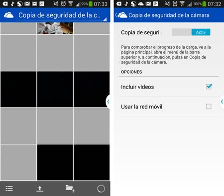 OneDrive fotos iOS