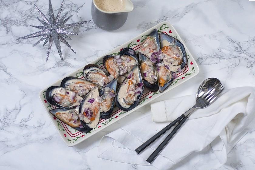 Mejillones con leche de tigre: un delicioso y fácil entrante para nuestros menús festivos