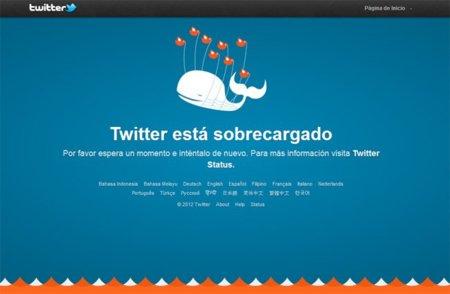 "Twitter actualiza el diseño de su ""Fail Whale"""