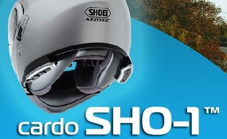 Sistema de comunicación Cardo SHO-1 para cascos Shoei