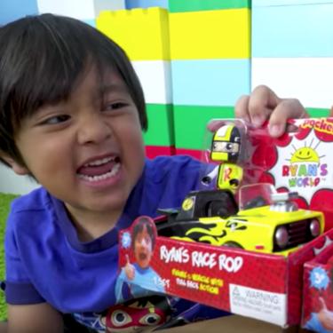 Ryan, el niño youtuber que gana 11 millones de dólares al año, lanza su propia línea de juguetes ¡con solo seis años!