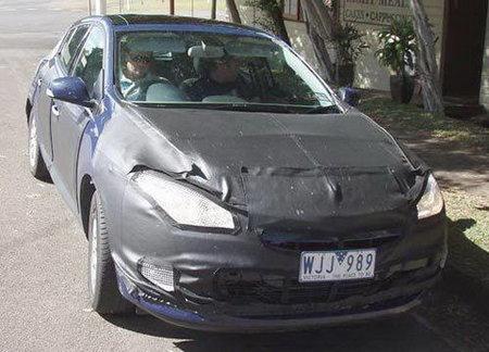 Fotos espia Renault Megane 2009