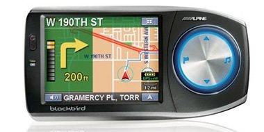 Alpine fusiona su GPS con reproducción MP3
