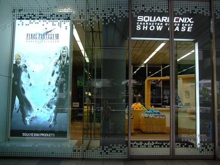 Oficina y tienda central de Square Enix en Tokyo