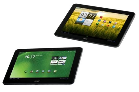 Se filtran imágenes de los que podían ser los próximo tablets de Acer, Iconia A200 y A700