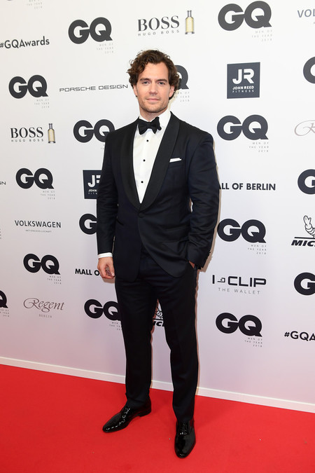 Henry Cavill Red Carpet Arrivals Gq Men Of The Year Award 2018