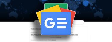 Así puedes tener toda la información del coronavirus en tu móvil gracias a Google News