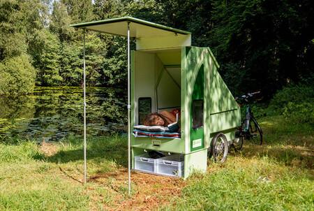 Remolque Camper Bicicleta