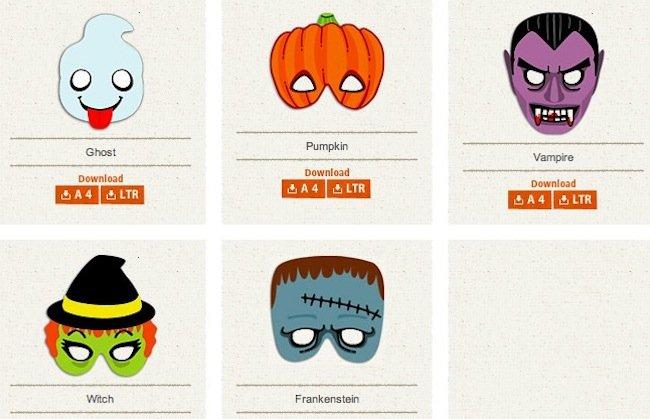 M scaras de halloween para imprimir - Calabazas halloween para imprimir ...
