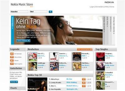 Tienda de música de Nokia abre en Alemania