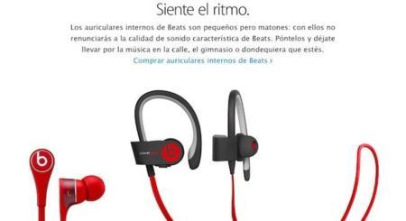 Beats acapara su espacio propio en la Apple Store Online