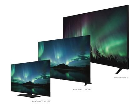 Televisores Nokia Android Tv 5