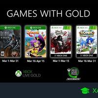 Juegos de Xbox Gold gratis para Xbox One y 360 de marzo 2020