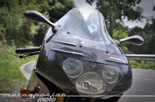 """Aquellas maravillosas motos: prueba Aprilia RSV 1000 Mille """"a la carbonara"""" (conducción)"""