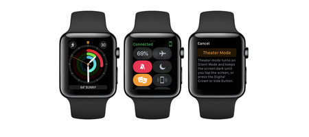 Watchos 3 2 Apple Watch Theater Mode