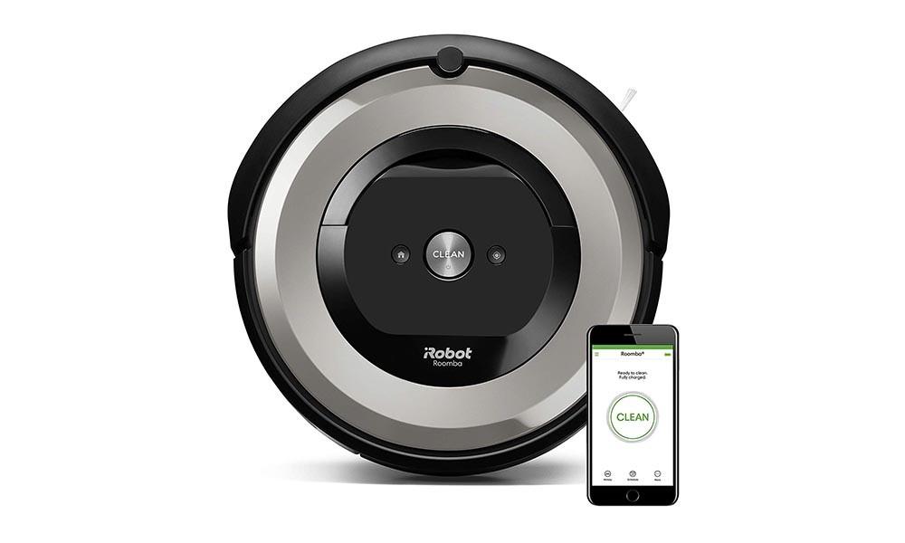 Rozando su precio mínimo, hoy en Amazon tienes de nuevo el robot aspirador Roomba e5154 por sólo 284 euros