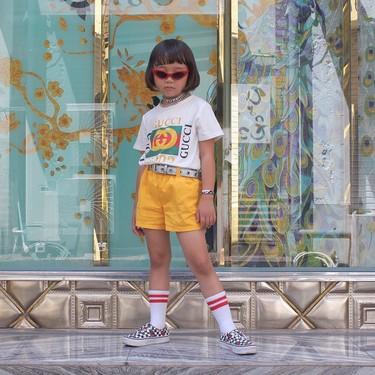 Tiene solo 6 años, combina los complementos como nadie y ya suma 200.000 seguidores en Instagram