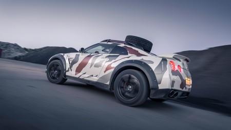 Este Nissan GT-R está preparado para sobrevivir al apocalipsis, y te lo puedes comprar por 95.000 euros