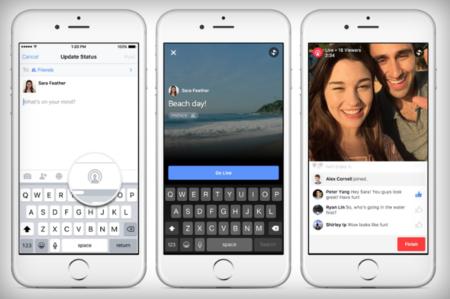 Facebook comienza a probar emisiones de vídeo en vivo para todos los usuarios