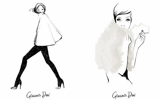 Dibujos de Garance