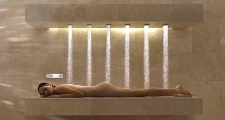 ducha horizontal