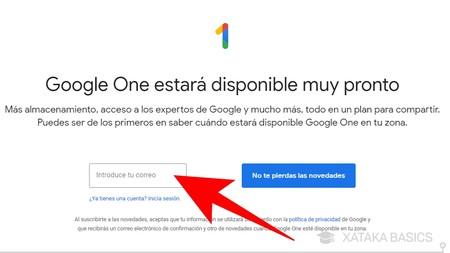Correo Google One