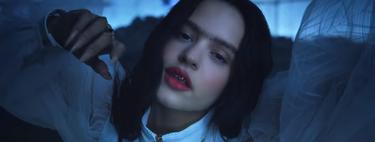 Con entrecejo y dientes de oro: así presenta Rosalía su nuevo videoclip 'A Palé'