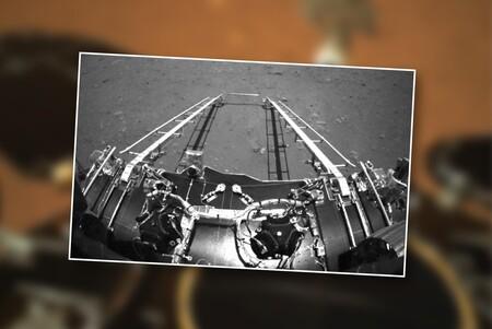 China publica las primeras imágenes de su lander en Marte: así es el planeta a los ojos de Zhurong