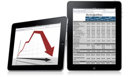 Los componentes del iPad tienen un coste de 159 euros