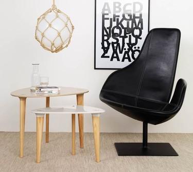 Las espectaculares mesas de café estilo escandinavo de HI-MACS®