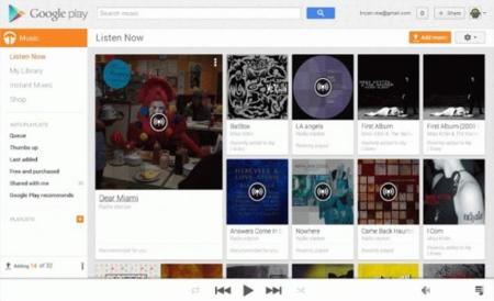 Google Music ya nos deja subir nuestras canciones directamente desde la web... si usamos Chrome